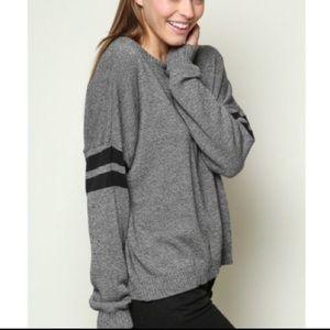 Brandy Melville Veena Varsity Striped sweater
